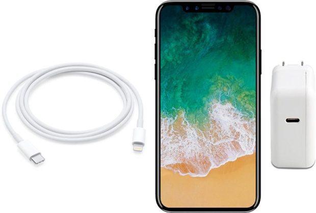iPhone X fast charge ricarica rapida