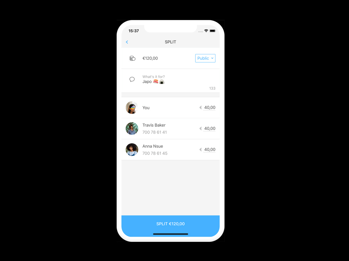 L'app di pagamenti Verse